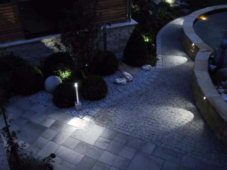 Ihr Garten: Auch bei Nacht ein absolutes Highlight!
