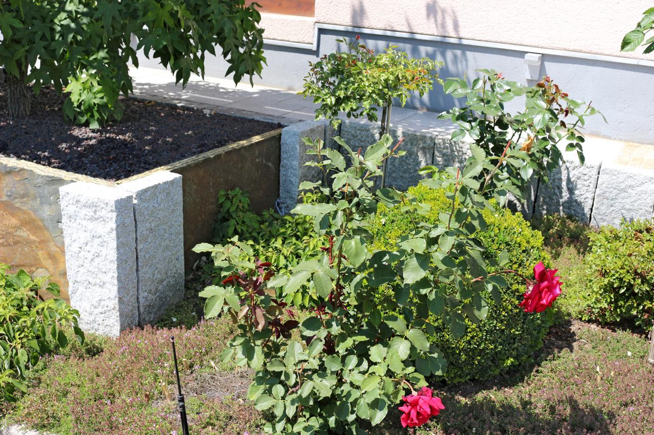 Unser Mustergarten in Lichtenfels-Mistelfeld