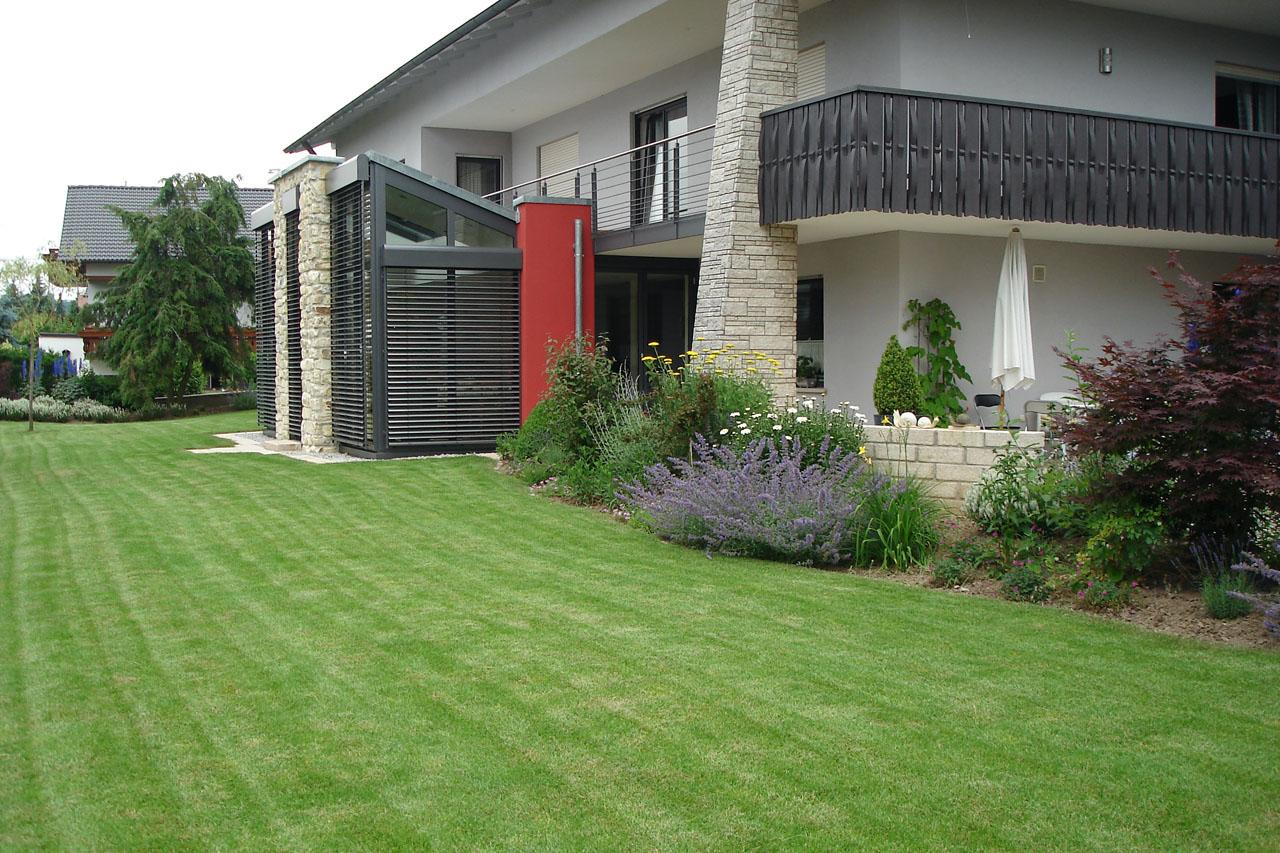 Gartenanlage in Redwitz