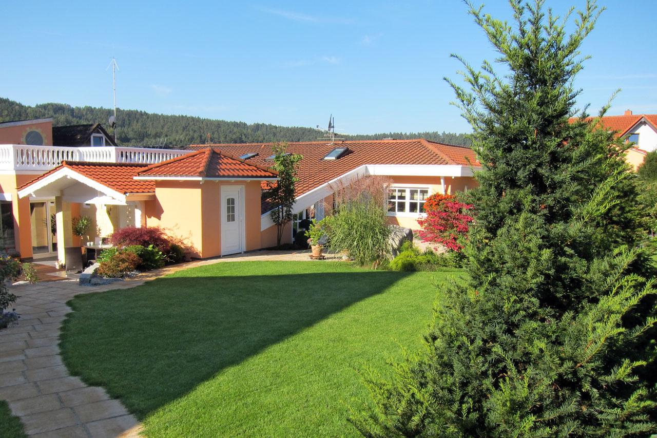Gartenanlage in Bad Staffelstein-Loffeld