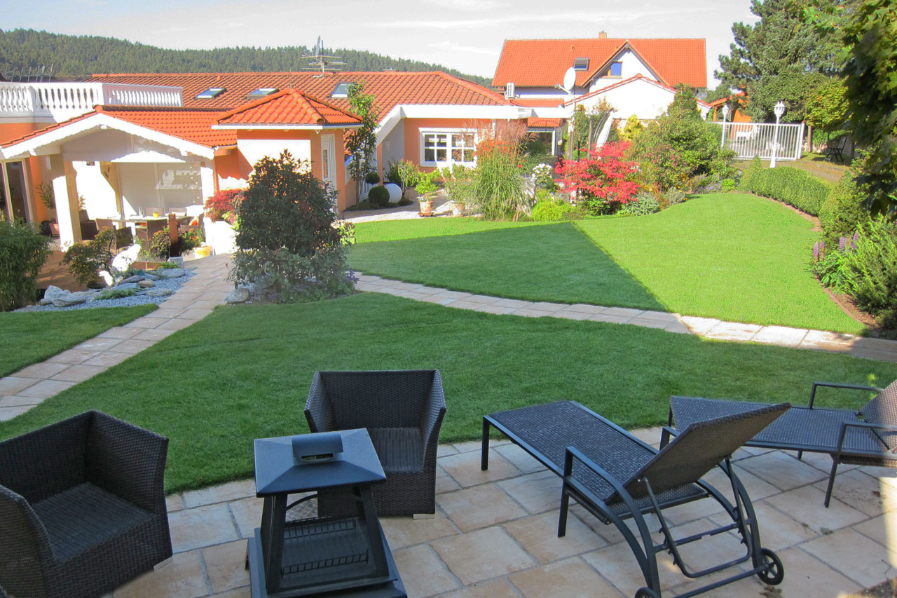 Gartenanlage in Bad Staffelstein-Loffeld