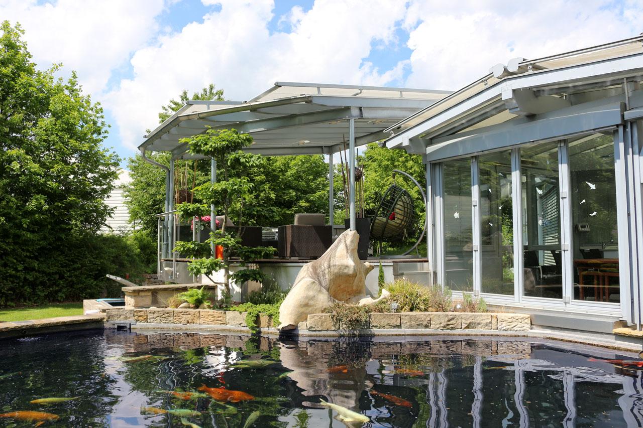 Gartenanlage in Lichtenfels-Schney