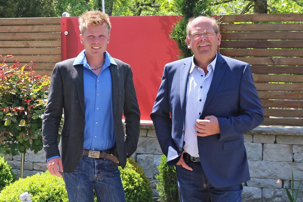 Florian und Michael Rauch