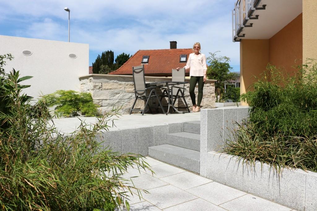 Gartenanlage in Bad Staffelstein.