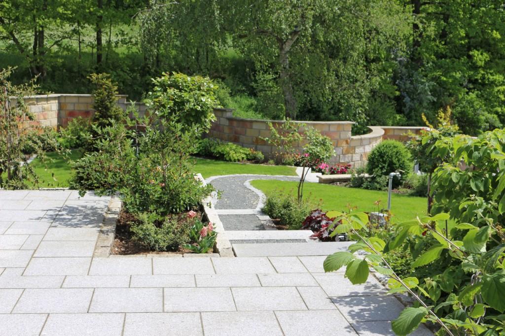 Gartenanlage in Burgkunstadt - Neuses am Main