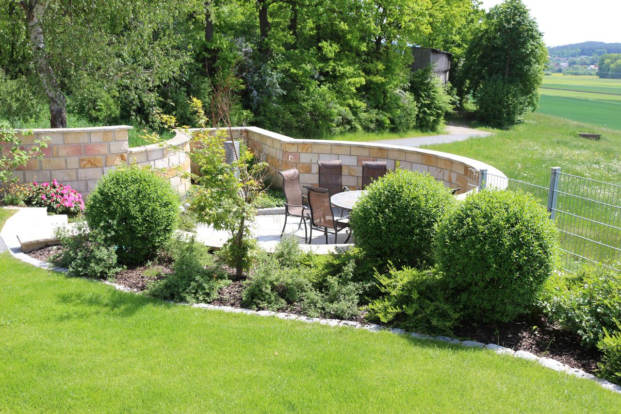Gartenanlage in Burgkunstadt