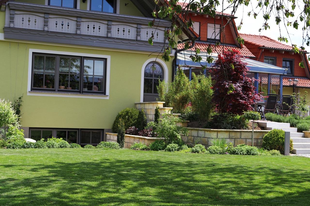 Aussenanlage in Redwitz
