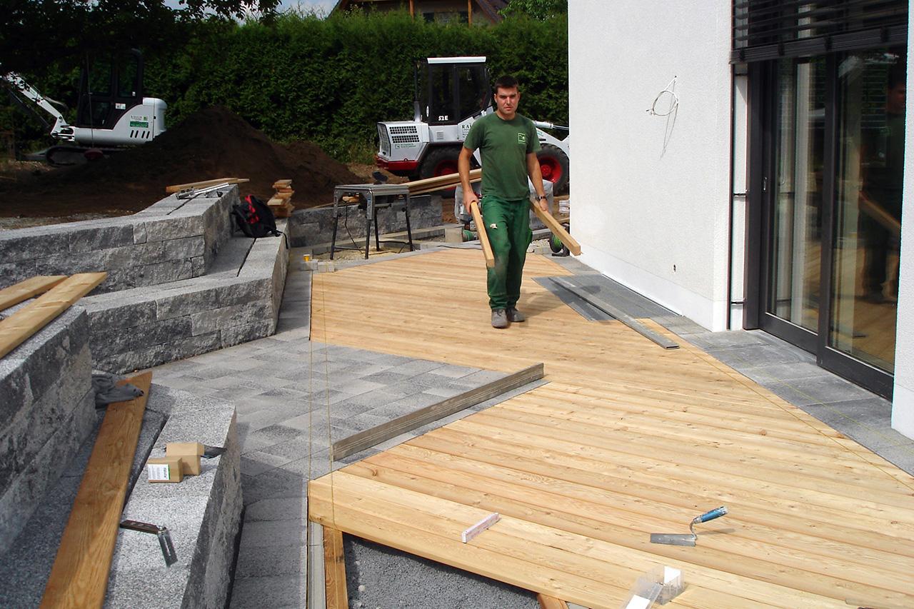 Holzterrassenbau