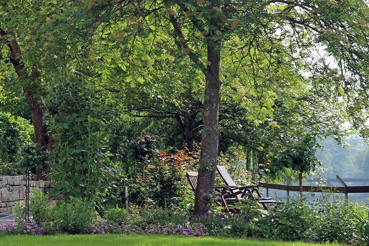 Garten in Marktzeuln, Heinzenmühle.