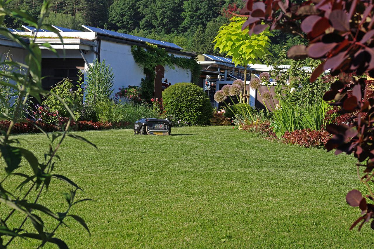 Gartenanlage in Mistelfeld