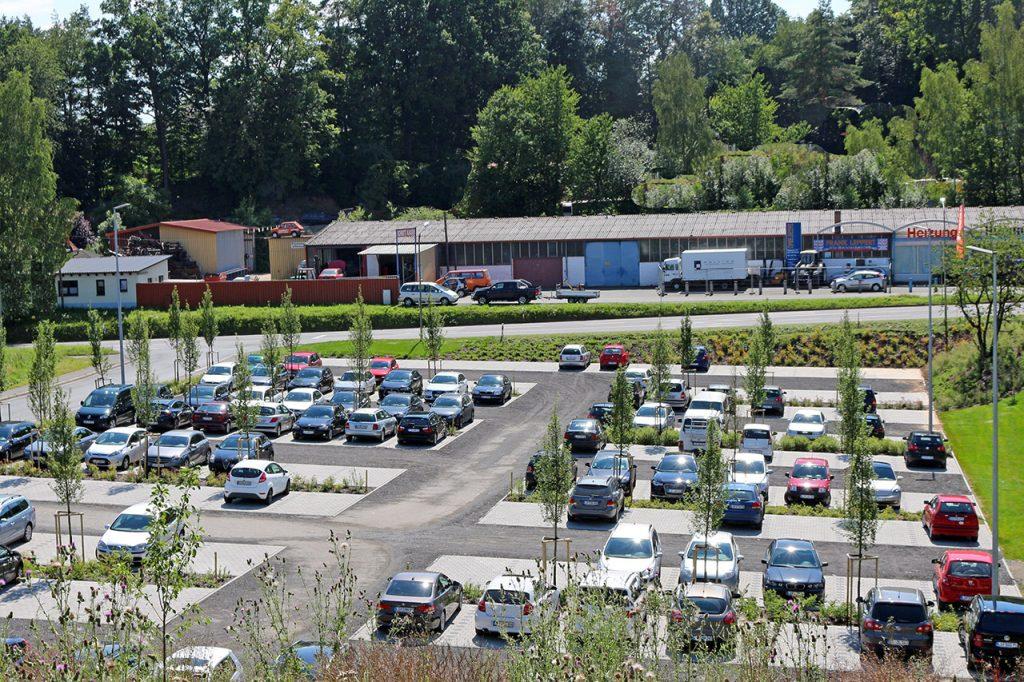 """Hofmann Mitarbeiterparkplatz """"An der Zeil"""""""
