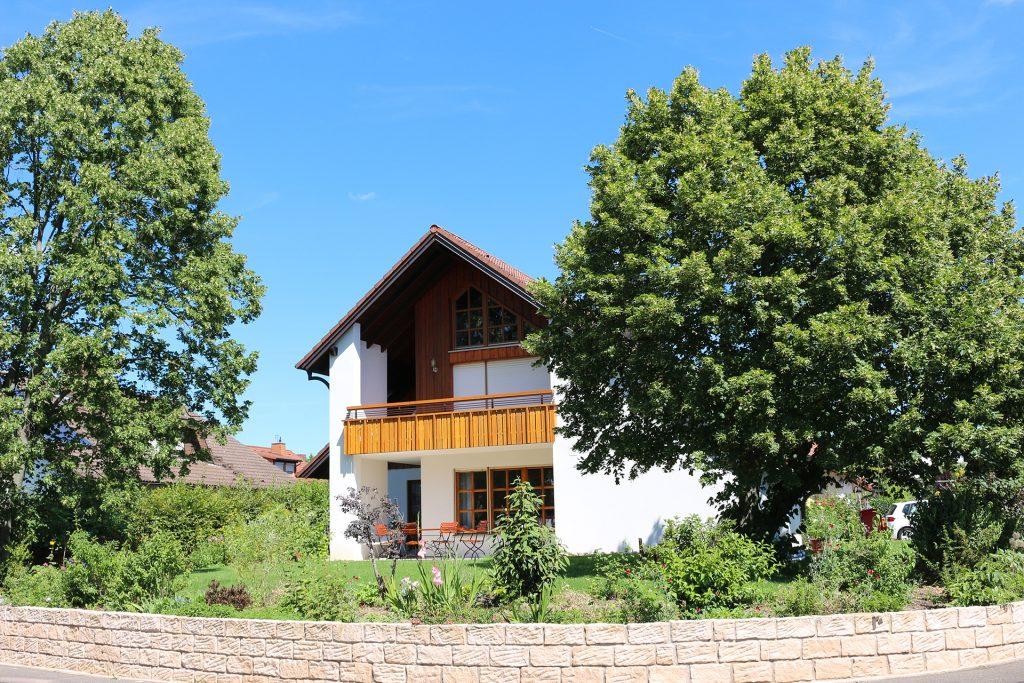 Garten in Lautertal.