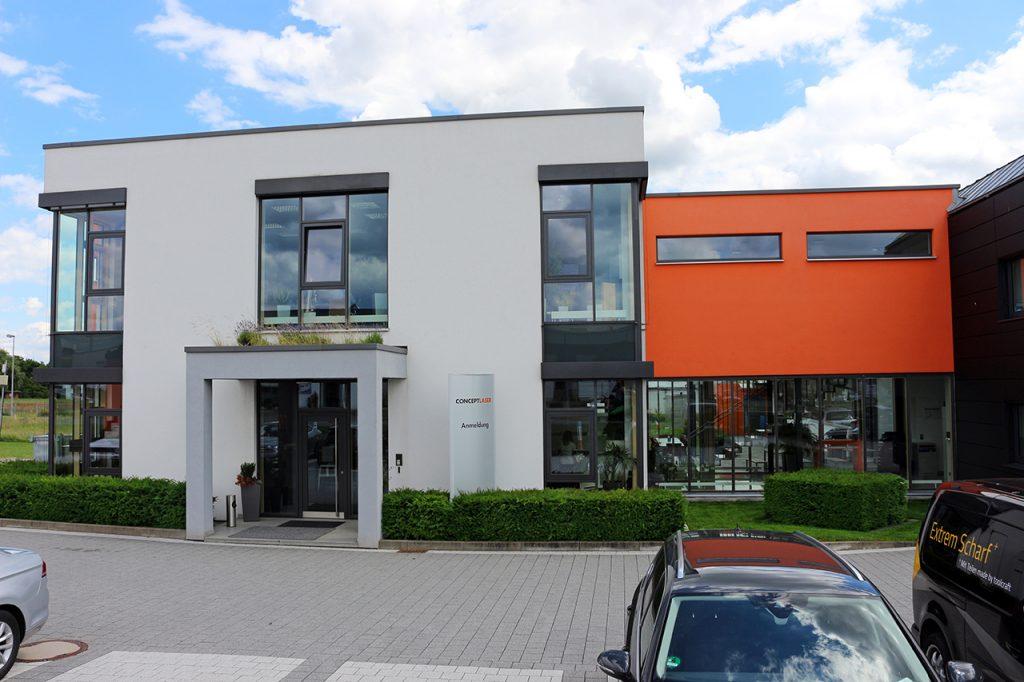Concept Laser Firmengebäude.