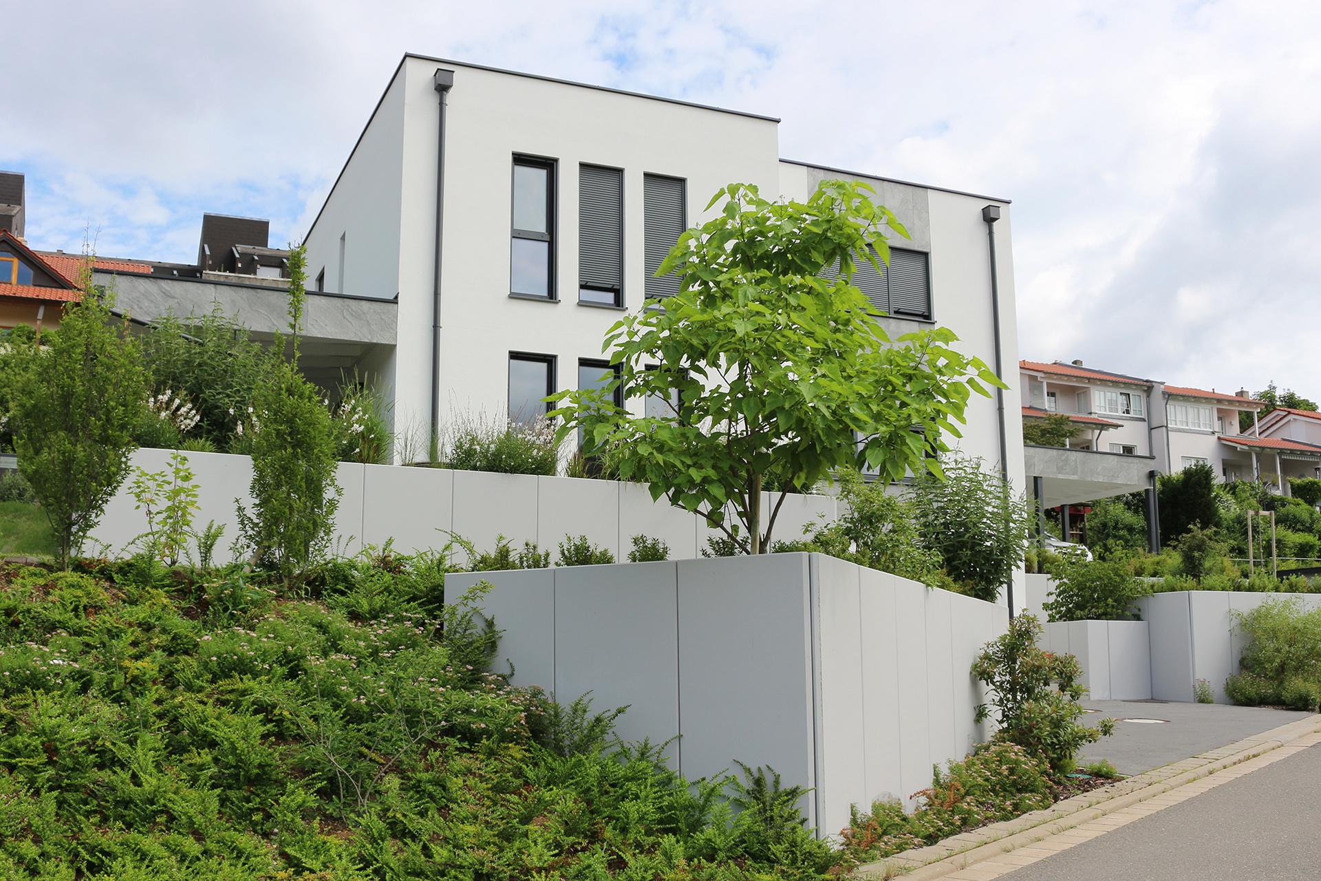 Gartenanlage in Coburg