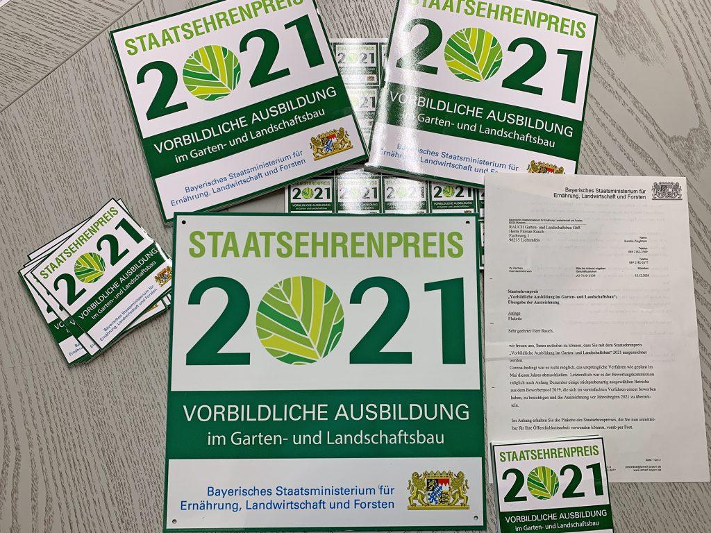 Staatsehrenpreis 2021